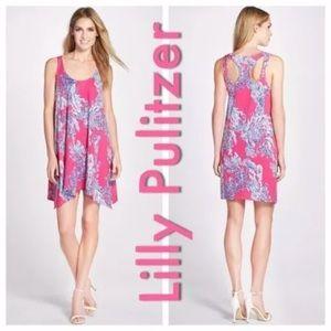 💓Lilly Pulitzer Pink Samba Monterey Dress Size M